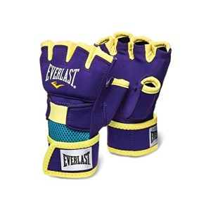 Everlast-sous-gants-de-boxe-pour-adulte-violetjaune-taille-L-0