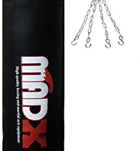 MADX-Kit-Sac-de-frappe-rempli-Chane-Kickbag-kick-boxing-MMA-152-cm-0