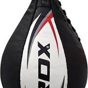 RDX-12PC-Boxe-Peau-De-Vache-Poire-Vitesse-MMA-Sac-Frappe-Plateforme-Double-End-Speed-Bag-Entrainement-0-0