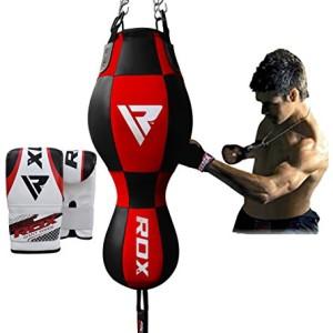 RDX-Boxe-3-en-1-Sac-De-Frappe-Lourd-Angle-Haut-Du-Corps-Vitesse-De-Balle-Rempli-MMA-Pied-Poing-Kickboxing-Muay-Thai-0