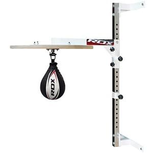 RDX-Boxe-Plateforme-Peau-De-Vache-Poire-Vitesse-MMA-Sac-Frappe-Double-End-Speed-Bag-Entrainement-0