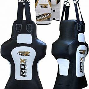 RDX-MMA-Torse-uppercut-Factice-Sac-Uppercut-De-Frappe-Lourd-Boxe-Rempli-Sac-Pied-Poing-Kickboxing-0
