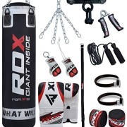 RDX-Sac-de-Frappe-Rempli-Lourd-Punching-Ball-MMA-Muay-Thai-Kickboxing-Arts-Martiaux-Kit-Boxe-Avec-Gants-Chaine-Suspension-support-Plafond-Punching-Bag-0-0