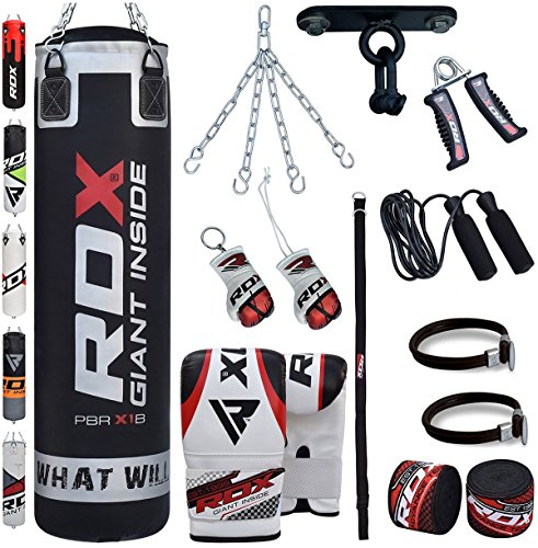 achat rdx sac de frappe rempli lourd punching ball mma. Black Bedroom Furniture Sets. Home Design Ideas