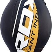 RDX-Cuir-Vachette-Double-End-Bag-Poire-de-Vitesse-Boxe-Frappe-Entrainement-MMA-Speed-Muay-Thai-0-0