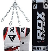 RDX-Sac-de-Frappe-Rempli-Lourd-Punching-Ball-MMA-Muay-Thai-Kickboxing-Arts-Martiaux-Kit-Boxe-Avec-Gants-Chaine-Suspension-Adulte-Punching-Bag-0-0