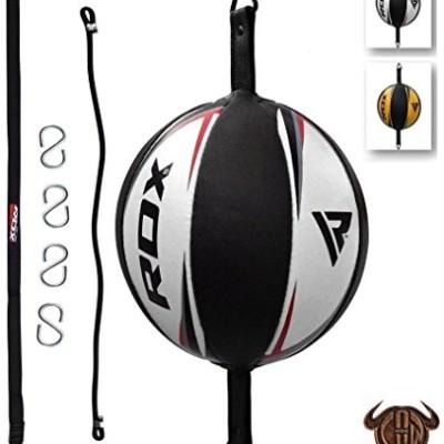 RDX-Vachette-Double-End-Bag-Corde-Attache-Poire-de-Vitesse-Boxe-Frappe-Entrainement-MMA-Speed-Ball-Muay-Thai-0