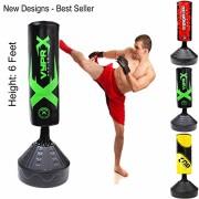 Sac-de-frappe-sur-pied-17-m-pour-boxe-kick-boxing-MMA-boxe-thai-arts-martiaux-Green-0