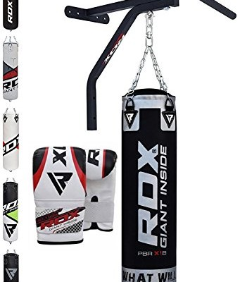 RDX-Sac-de-Frappe-Barre-Traction-Rempli-Support-Mural-Lourd-MMA-Punching-Ball-Muay-Thai-Arts-Martiaux-Kickboxing-Boxe-Gants-Chaine-Suspension-Punching-Bag-0