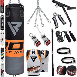RDX-Sac-de-Frappe-Rempli-Lourd-MMA-Punching-Ball-Muay-Thai-Arts-Martiaux-Kickboxing-Kit-Boxe-Avec-Gants-Chaine-Suspension-support-Mural-Punching-Bag-0-1