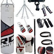 RDX-Sac-de-Frappe-Rempli-Lourd-Punching-Ball-Kickboxing-Muay-Thai-MMA-Kickboxing-Arts-Martiaux-Kit-Boxe-Avec-Gants-Chaine-Suspension-support-Plafond-Punching-Bag-0-0