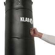 Klarfit-Kit-Musculation-Sac-de-Frappe-Punching-Ball-Boxe-et-Barre-de-Traction-Murale-350-Kilos-max-Fixation-Murale-Acier-Noir-et-Cuir-0-0