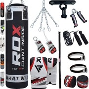 RDX-Sac-de-Frappe-Rempli-Lourd-Punching-Ball-MMA-Muay-Thai-Kickboxing-Arts-Martiaux-Kit-Boxe-Avec-Gants-Chaine-Suspension-support-Plafond-Punching-Bag-0