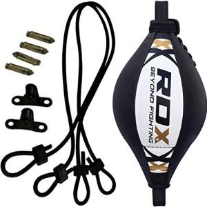 RDX-Cuir-Vachette-Poire-de-Vitesse-Boxe-Frappe-Attache-Double-End-Bag-Entrainement-MMA-Speed-Muay-Thai-0