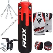 RDX-Sac-de-Frappe-Rempli-Lourd-MMA-Punching-Ball-Muay-Thai-Arts-Martiaux-Kickboxing-Kit-Boxe-Avec-Gants-Chaine-Suspension-support-Mural-Punching-Bag-0-0