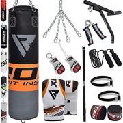 RDX-Sac-de-Frappe-Rempli-Lourd-MMA-Punching-Ball-Muay-Thai-Arts-Martiaux-Kickboxing-Kit-Boxe-Avec-Gants-Chaine-Suspension-support-Mural-Punching-Bag-0-1