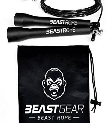 Corde–Sauter-Beast-Gear-Speed-Rope-Pour-Entranement-Crossfit-Fitness-Boxe-MMA-Gym-Accessoire-Cardio-Idal-pour-Maigrir-Brler-des-Calories-Se-Muscler-0