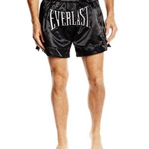 Everlast-Pantalon-Adulte-Short-de-Boxe-thalandaise-L-Noir-0