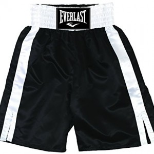 Everlast-Pro-boxing-trunck-Short-boxe-mixte-NoirBlanc-M-0