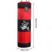 Punch-Sandbag-Sac-de-Frappe-Fonctionnel-pour-Sac-de-Boxe-Durable-pour-Boxe-Durable-pour-Exercice-Fitness-Et-Sport-80cm-Rouge-0-0
