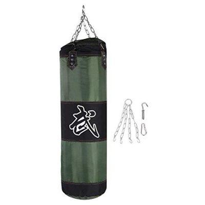 Alomejor-Sac-de-Frappe-Kick-Boxing-Sac-de-Boxe-Professionnel-Sac-de-Sable-Vide-avec-Chanes-pour-Fitness-Boxe-MMA1-Vert-0
