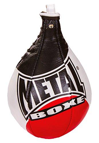 METAL-BOXE-MB168-Poire-de-Vitesse-Mixte-Adulte-NoirRouge-Taille-L-0